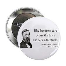 "Henry David Thoreau 33 2.25"" Button"