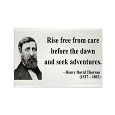 Henry David Thoreau 33 Rectangle Magnet