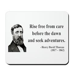 Henry David Thoreau 33 Mousepad