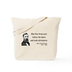 Henry David Thoreau 33 Tote Bag