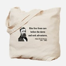 Henry David Thoreau 33 Tote Bag