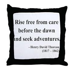 Henry David Thoreau 33 Throw Pillow