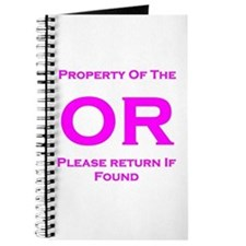 OR Property pink Journal
