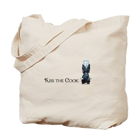 Scottie Kiss the Cook Tote Bag