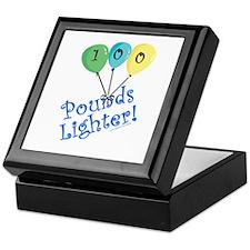 100 Pounds Lighter Keepsake Box