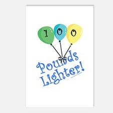 100 Pounds Lighter Postcards (Package of 8)