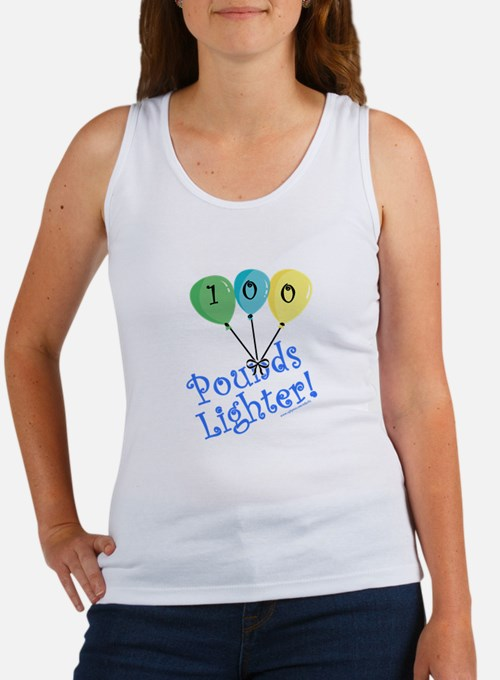 100 Pounds Lighter Women's Tank Top