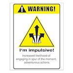 Impulsive Small Poster