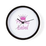 Princess Isabel Wall Clock