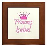 Princess Isabel Framed Tile