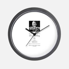 We got him! Wall Clock