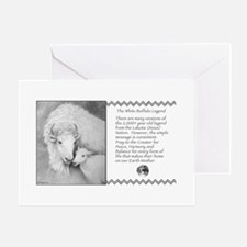 White Buffalo Legend ~ Greeting Card ~ Blank