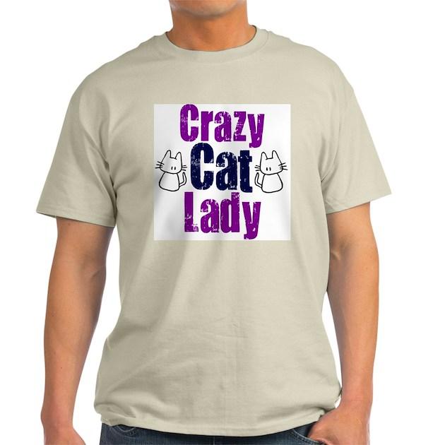 Crazy cat lady T-Shirt | CafePress.com