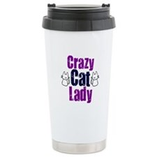 Crazy cat lady Travel Mug