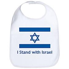 I Stand With Israel Bib