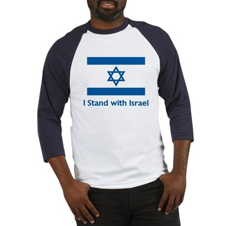 I Stand With Israel Baseball Jersey