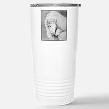White Buffalo & Calf ~ Travel Mug