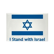 I Stand With Israel Rectangle Magnet (100 pack)