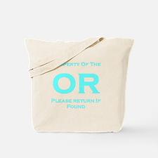 OR Prop Blue Tote Bag