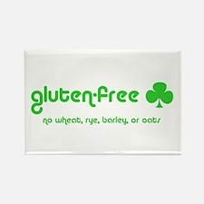 gluten-free (club) no wheat r Rectangle Magnet