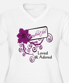 grandmother: loved & adored T-Shirt