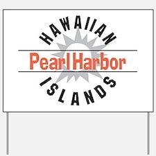 Pearl Harbor Hawaii Yard Sign