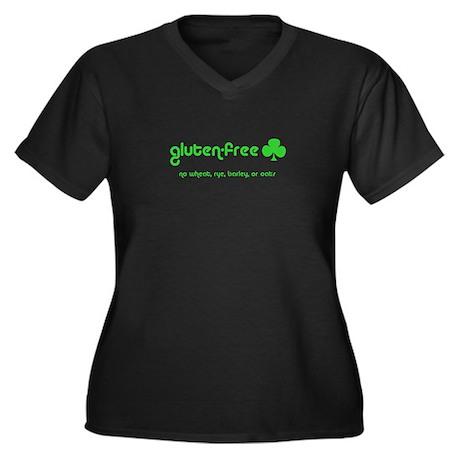gluten-free (club) no wheat r Women's Plus Size V-