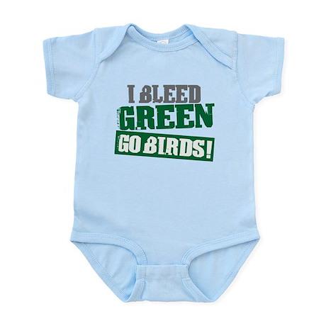 I Bleed Green (Philly) Infant Bodysuit