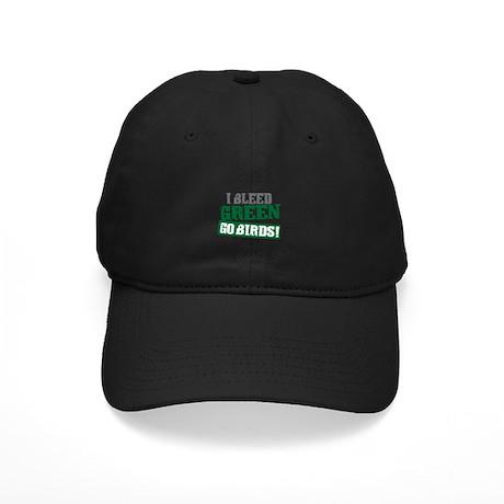 I Bleed Green (Philly) Black Cap