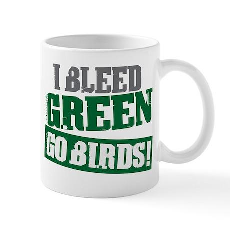 I Bleed Green (Philly) Mug