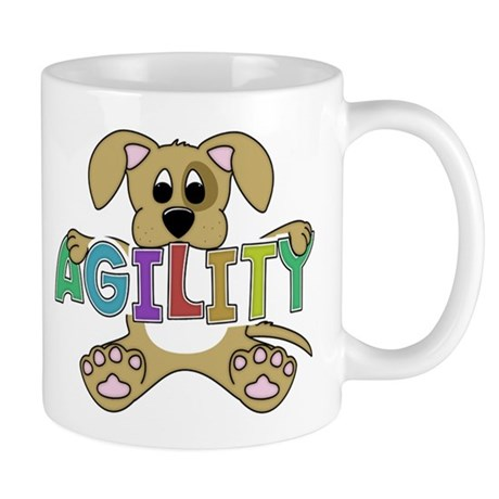 Cute Puppy Agility Mug