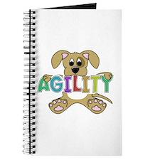 Cute Puppy Agility Journal