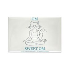 Catoons™ Yoga Cat Rectangle Magnet (100 pack)