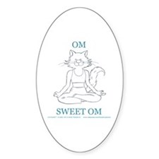 Catoons™ Yoga Cat Decal