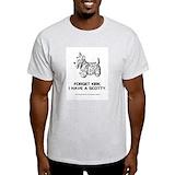 Scottish terriers Mens Classic Light T-Shirts