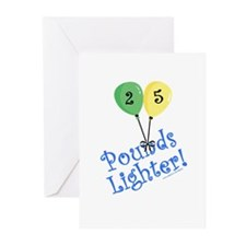 25 Pounds Lighter Greeting Cards (Pk of 20)