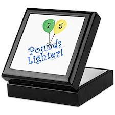 75 Pounds Lighter Keepsake Box