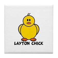 Layton Chick Tile Coaster
