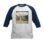 Look What You Made Me Do! Kids Baseball Jersey
