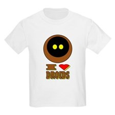 I LOVE DROIDS T-Shirt
