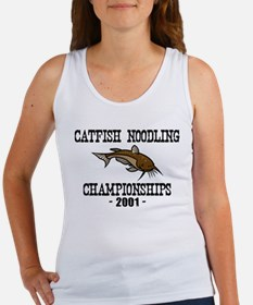 Catfish Noodling Women's Tank Top