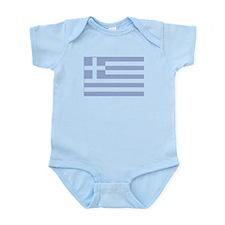 Greek Flag Infant Creeper