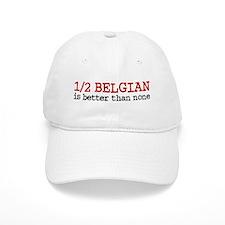 Half Belgian Baseball Cap