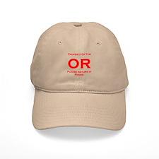 OR Prop red Baseball Cap