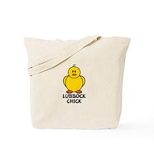 Lubbock Chick Tote Bag