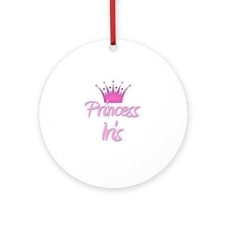 Princess Iris Ornament (Round)