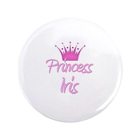 "Princess Iris 3.5"" Button"