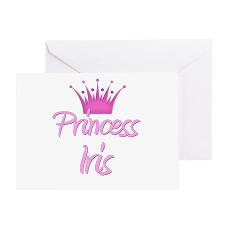 Princess Iris Greeting Card