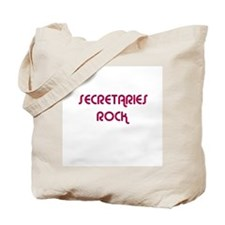 SECRETARIES  ROCK Tote Bag