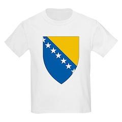 Bosnia Coat Of Arms Kids T-Shirt